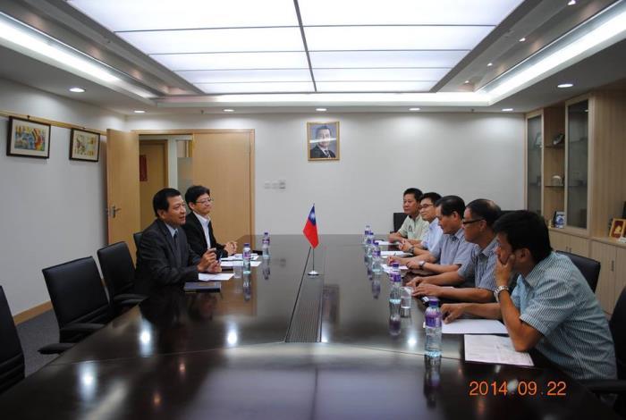 澳門建築安全協會拜會駐澳門臺北經濟文化辦事處