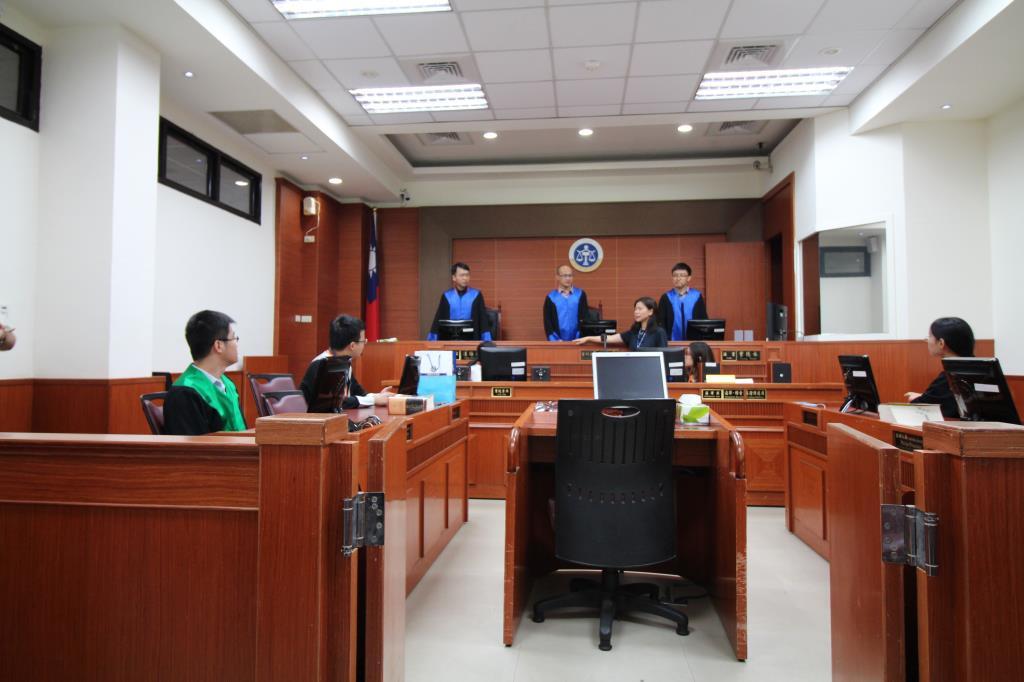 兩岸法律生論壇交流活動_參訪高等法院