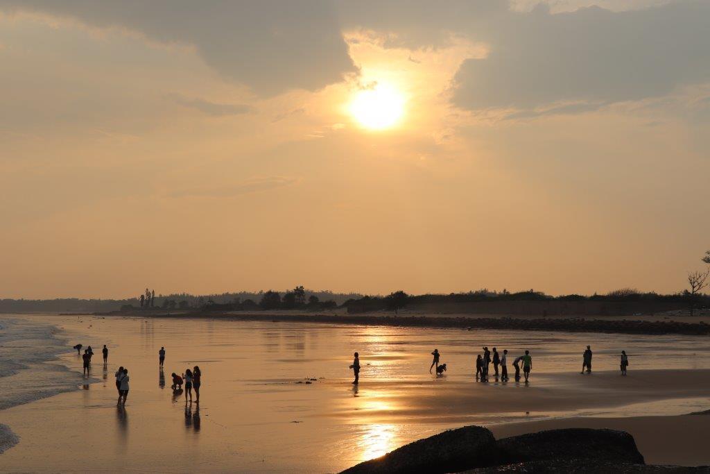 成功海灘夕照