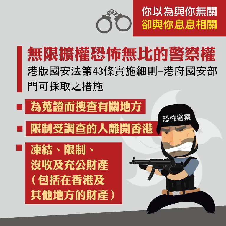 政府因應港版國安法專區懶人包
